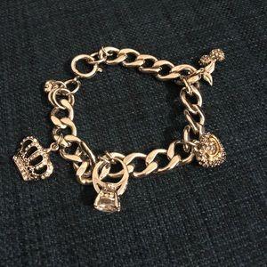 Juicy Couture - Silver Charm Bracelet